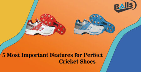 5 Most Important Features for Perfect Cricket Shoes